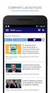screenshot of News Argentina. Noticias y Diarios version 124