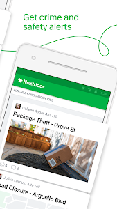 screenshot of Nextdoor - Local neighborhood news & classifieds version 2.80