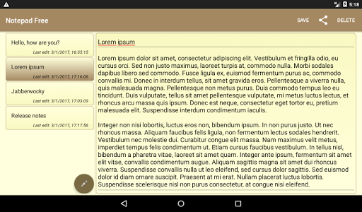 Download Notepad Free 1.2.5 APK