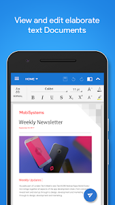 screenshot of OfficeSuite Pro + PDF (Trial) version Varies with device