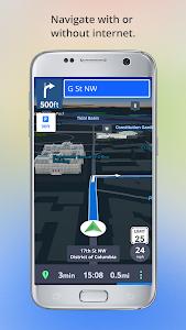 screenshot of Offline Maps & Navigation version 17.4.7