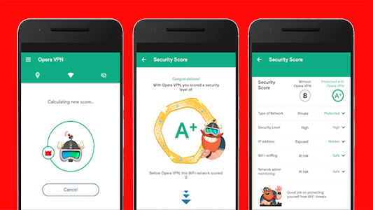screenshot of Ontips add opera vpn 2018 version 6.0