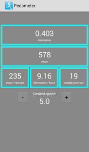 Download Pedometer - caloriecounter 1.2 APK
