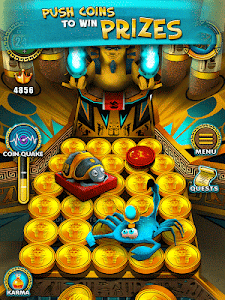screenshot of Pharaoh Gold Coin Party Dozer version 1.4.1