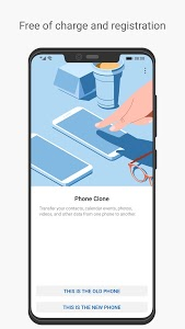 screenshot of Phone Clone version 9.0.3.303_OVE