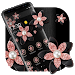 Download Pink Gold Flower Black Luxury Theme 1.1.3 APK