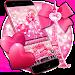 Download Pink glitter lovely paris keyboard 10001003 APK