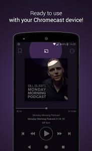screenshot of Podcast Go version 2.11.5