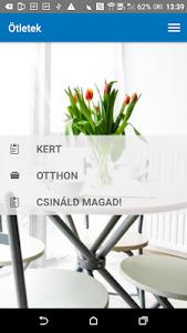 screenshot of Praktiker Magyarország version 1.2.70