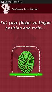 screenshot of Pregnancy Test Scanner Prank version 1.1