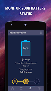 screenshot of Spark Battery Saver version 1.9