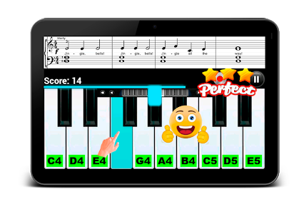 screenshot of Real Piano Teacher 2 version 1.5