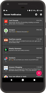 screenshot of Recent Notification version 3.1.2