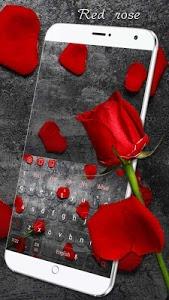 Download Red Rose Keyboard 10001004 APK