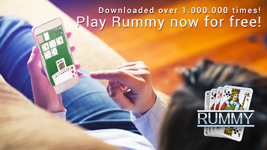 screenshot of Rummy - free card game version 3.1.24