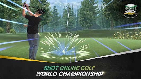 screenshot of SHOTONLINE GOLF:World Championship version 2.4.3