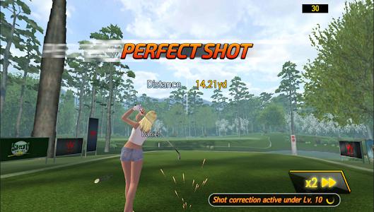 screenshot of SHOTONLINE GOLF:World Championship version 2.1.0