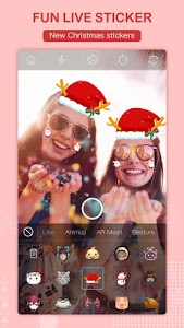 screenshot of Selfie Camera - Beauty Camera & AR Sticker Camera version 1.1.4