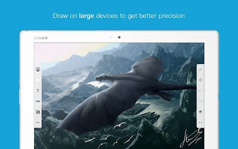 screenshot of Sketch - Draw & Paint version 8.4.A.1.2