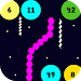 Download Slither vs Circles: All in One Arcade Games 16 APK