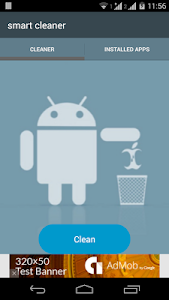 screenshot of Smart Cleaner version 1.2