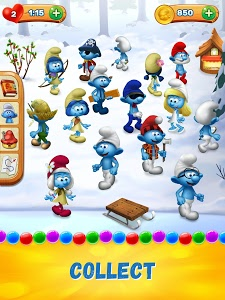 Download Smurfs Bubble Shooter Story 1.14.14458 APK