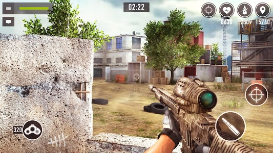 screenshot of Sniper Arena: PvP Army Shooter version 0.9.4