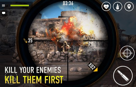 screenshot of Sniper Arena: PvP Army Shooter version 0.6.9