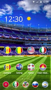 Download Soccer 2016 theme 1.1.1 APK
