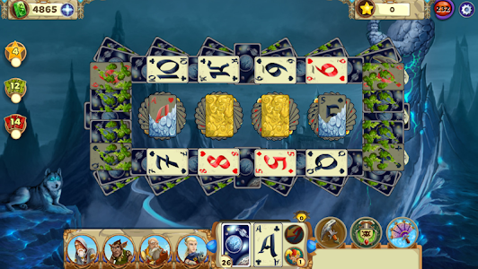 screenshot of Solitaire Tales version 2.25