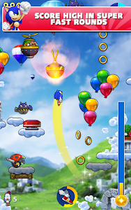 screenshot of Sonic Jump Fever version 1.6.1