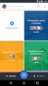 screenshot of Spaces - Find & Do with Google version 1.0.0.122565409