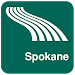 Download Spokane Map offline 1.80 APK