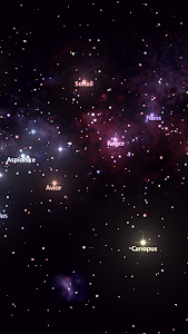 screenshot of Star Tracker - Mobile Sky Map version Varies with device