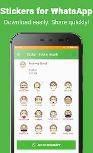 screenshot of Sticket - WAStickerApps Stickers for Whatsapp version 1.0.19