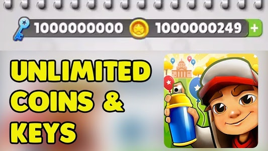 Download Subway Unlimited: coins & keys 2.1.6 APK