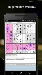 screenshot of Sudoku version 1.026
