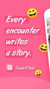 screenshot of Sweet Chat-Free chat meet newfriend,meet me online version 2.1.145