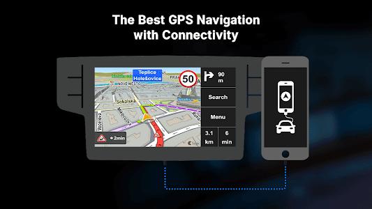 screenshot of Sygic Car Navigation version 18.0.6