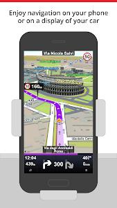 screenshot of Sygic Car Navigation version 15.3.1
