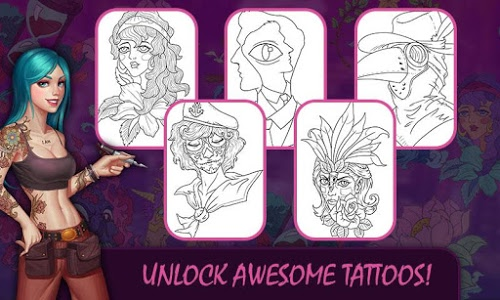 screenshot of Tattoo Master version Varies with device
