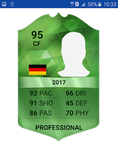Download Team Cards Viewer for FiFa 17 1.0 APK