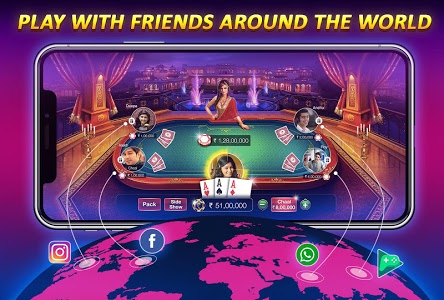 screenshot of Teen Patti Gold - With Poker & Rummy version 3.98
