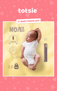 screenshot of Totsie – Baby Photo Editor version 1.0.1