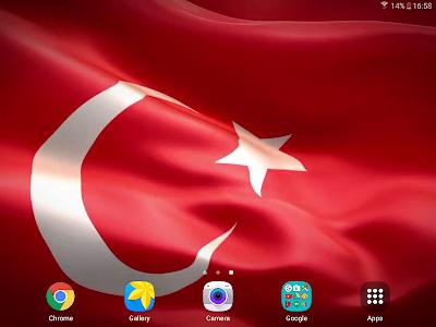 Download Turkish Flag Live Wallpaper 10 APK