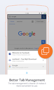 screenshot of UC Browser Mini -Tiny Fast Private & Secure version 10.9.5