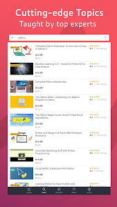 screenshot of Udemy - Online Courses version 5.4.3