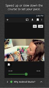screenshot of Udemy Online Courses version 2.8.6