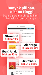 Download VIPdiskon - Promo & Cashback Setiap Hari 1.5.1 APK