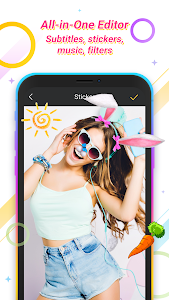 screenshot of Video Maker Of Photos & Effects, Slow Motion Video version 3.0.2